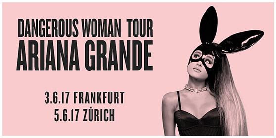 Ariana Grande auf Europatournee 2017