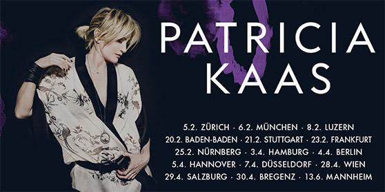 Patricia Kaas kommt 2017 auf Tour
